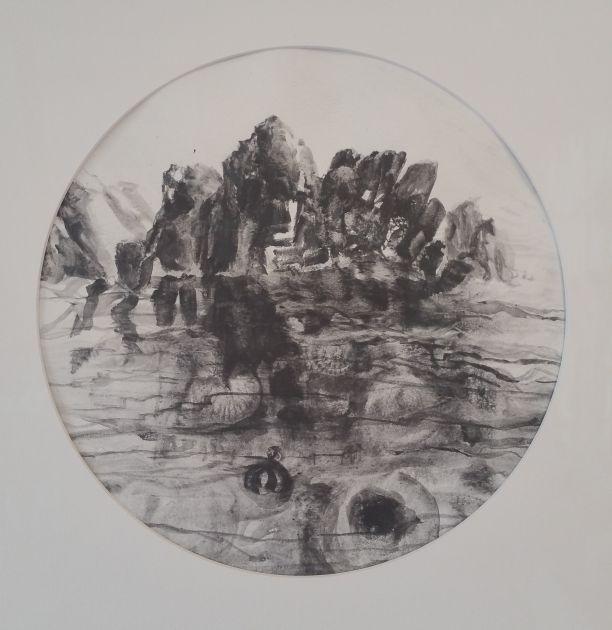 Ocean Study - Jurassic Graphite