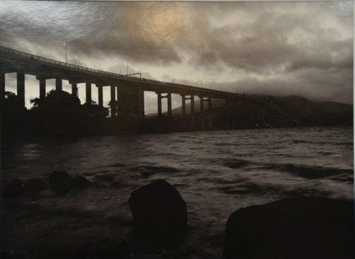 Tasman Bridge at Dusk