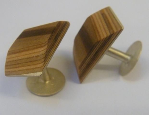 Renton Lamillae cufflink set