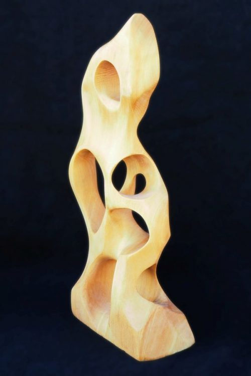 Hand carved Huon pine