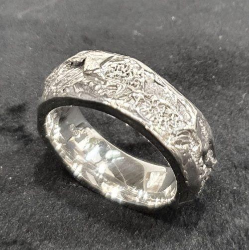 Silver Banksia Ring